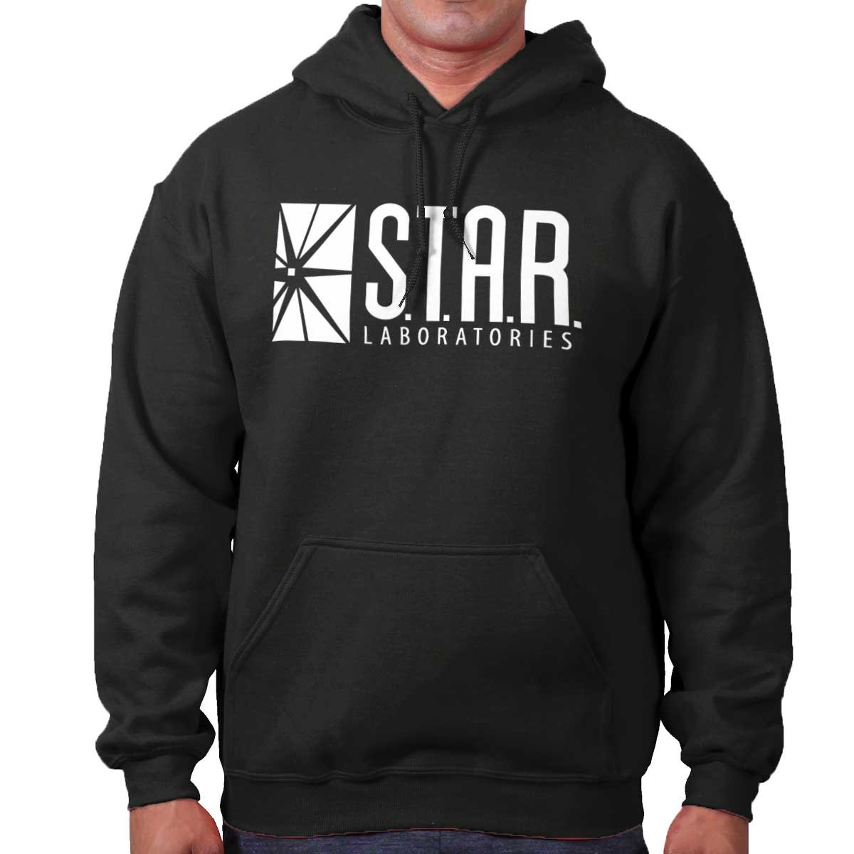 Star Labs The DC Flash Comics Superhero Reverse CW Hoodie Sweatshirt