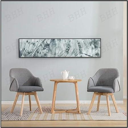 Ensemble Table Basse Et Chaise Minimaliste Nordique Table Ronde