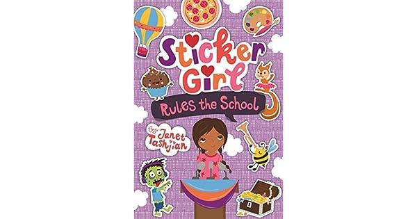 Amazon.com: Sticker Girl Rules the School (9781250183378 ...