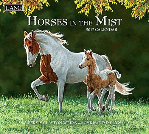 Horses in the Mist 2017 Calendar