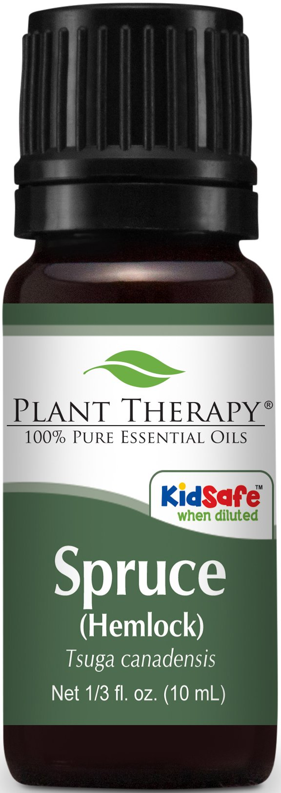 Plant Therapy Spruce (Hemlock) Essential Oil. 100% Pure, Undiluted, Therapeutic Grade. 10 ml (1/3 oz).
