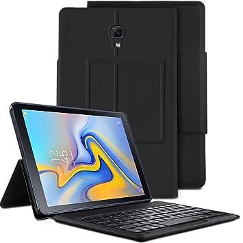 IVSO Teclado Estuche para Samsung Galaxy Tab A 10.5 SM-T590/T595 [QWERTY