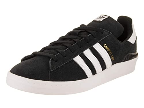 timeless design 2d69b 0a1d9 adidas Skateboarding Men s Campus ADV Black White White 6 D US D (M