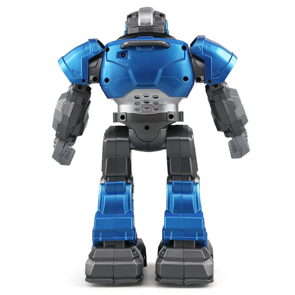Gbell JJRC R5 Interactive RC Smart Robot with Walking Singing Dancing Auto-Follow Gesture Sensor Robot Toys with Two Control Modes Gifts for Kids Boys Girls (Blue) by Gbell (Image #8)