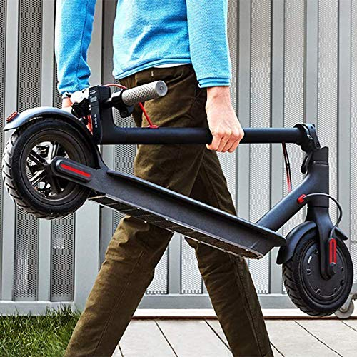 Gyrocopters Flash 2.0 Electric Scooter Ultra-Lightweight Electric Scooter, Easy Folding Portable Design, 8.5 inch Solid Rubber Tires