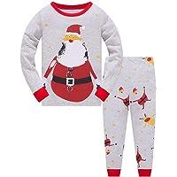 TEDD Conjunto de pijamas para niños [Pijamas de algodón] de manga larga [2 piezas]