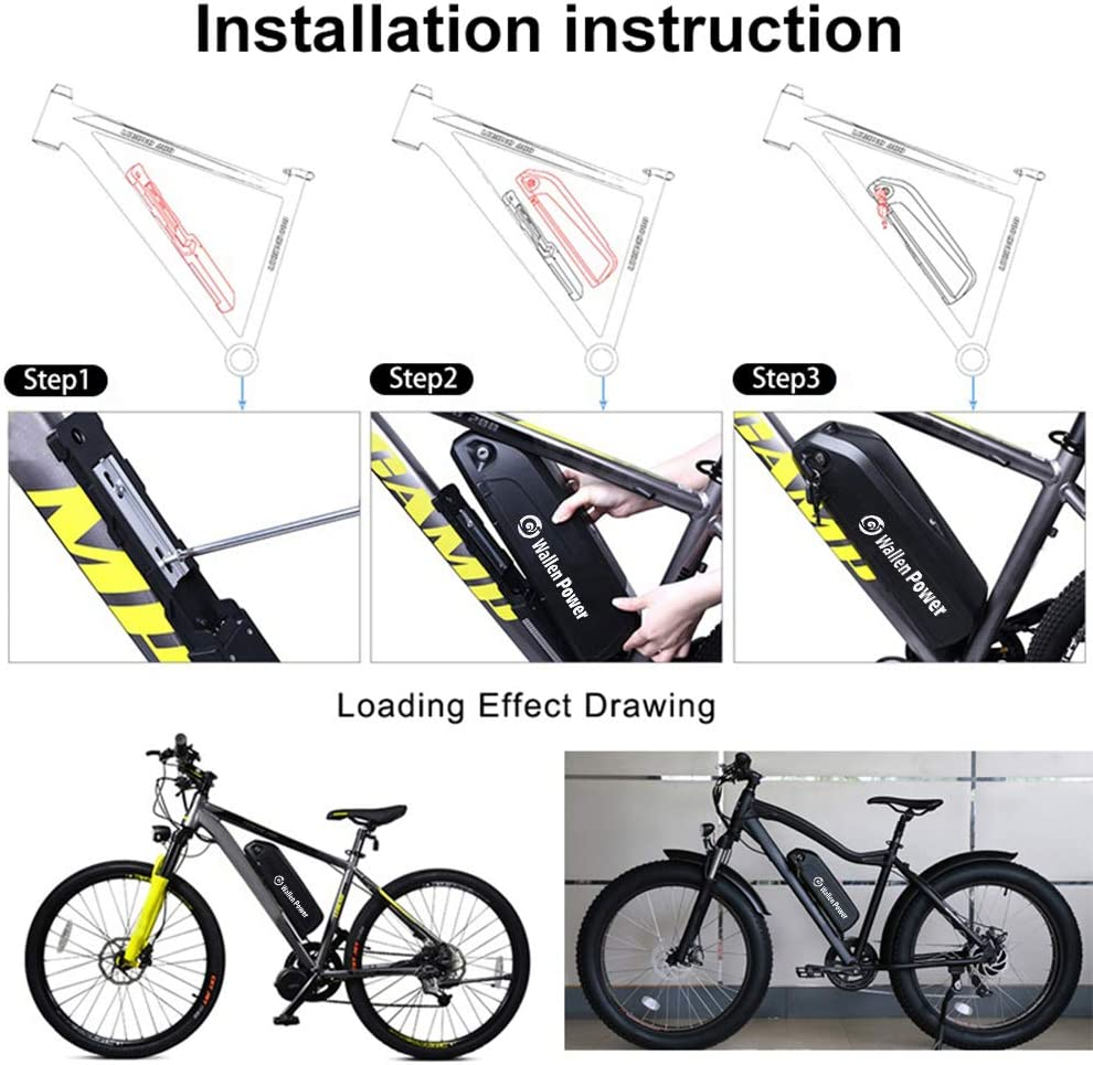E-bike Li-ion Battery 48V6,90Ah331Wh13S2PSamsung INR18650-35E