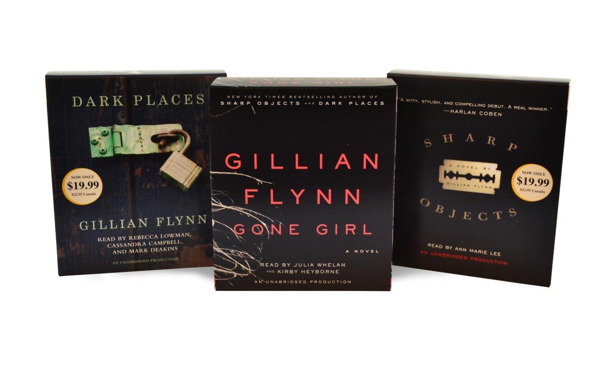 Gillian Flynn CD Audiobook Bundle: Gone Girl; Dark Places; Sharp Objects