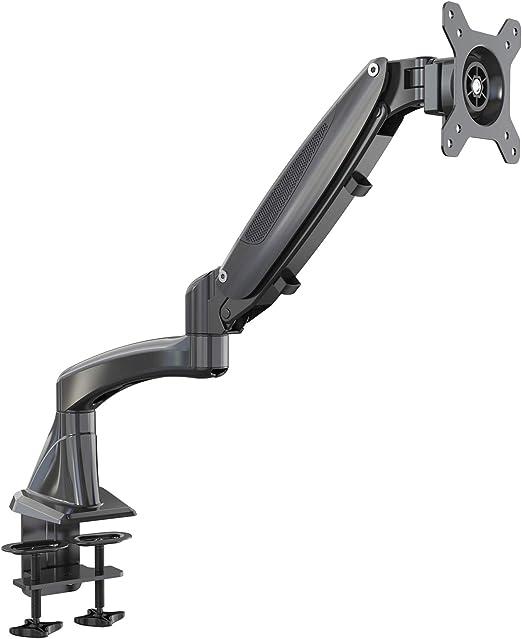 HFTEK Soporte brazo para monitor Soporte de escritorio y mesa para ...
