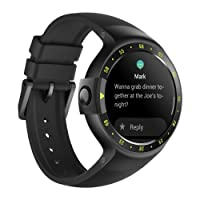Ticwatch S Smartwatch-Knight,1.4 inch OLED Display, Android Wear 2.0,Compatible with Apple iPhone, Samsung, Huawei, Sony, Motorola,LG, HTC, Lenovo, Google Pixel and other cellphones, Your Sports Companion