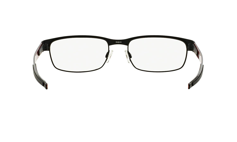 82331cca9a373 Amazon.com  Oakley Carbon Plate OX5079-0153 Eyeglasses Matte Black Clear  Demo 53 18  Oakley  Shoes