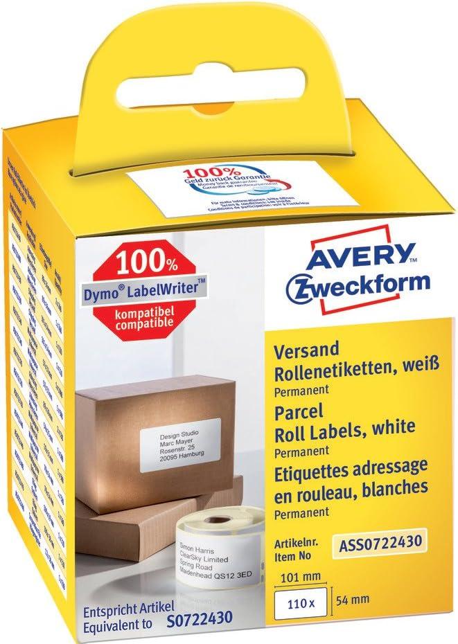 Avery Italia ASS0722430 Etichetta in Rotolo per Indirizzi