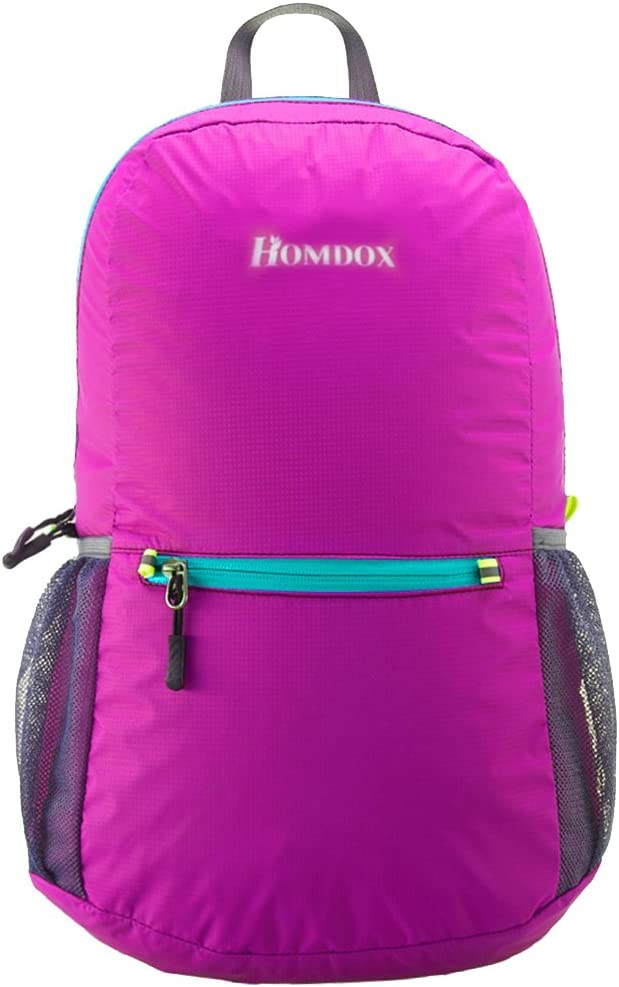 Homdox 22L Ultra Lightweight Packable Travel Backpack Water Resistant Hiking Daypack,Small Backpack Handy Foldable Camping Outdoor Backpack Little Bag – Durable Waterproof