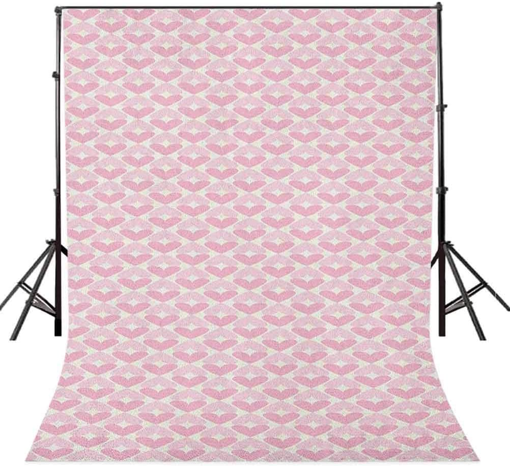 7x10 FT Geometric Vinyl Photography Backdrop,Traditional Oriental Pattern with Classical Curves Illustration Background for Photo Backdrop Baby Newborn Photo Studio Props