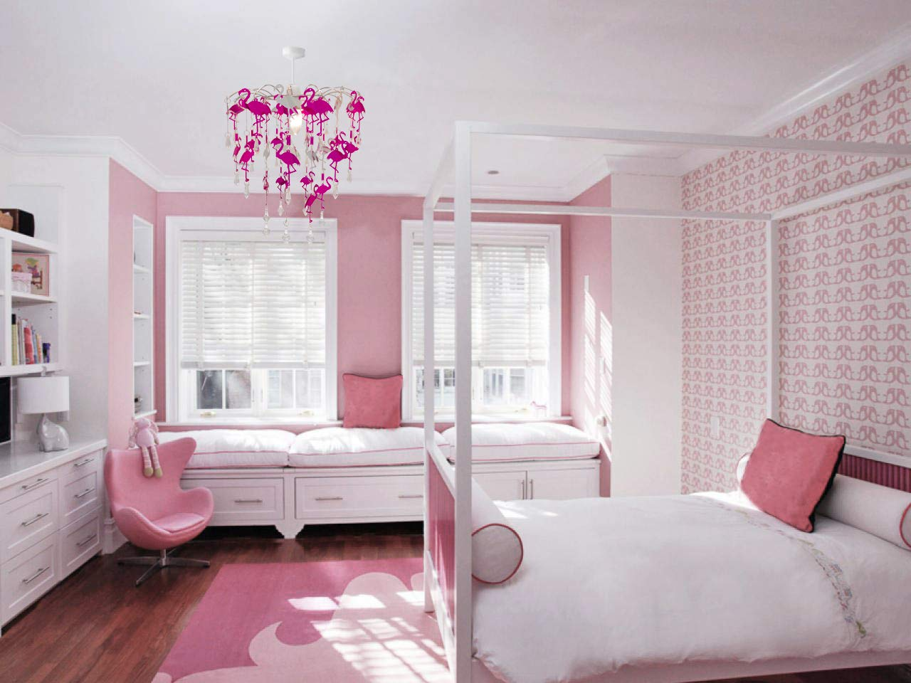 Kronleuchter Für Kinder ~ Kinder meerjungfrau flamingo feen schlafzimmer kronleuchter