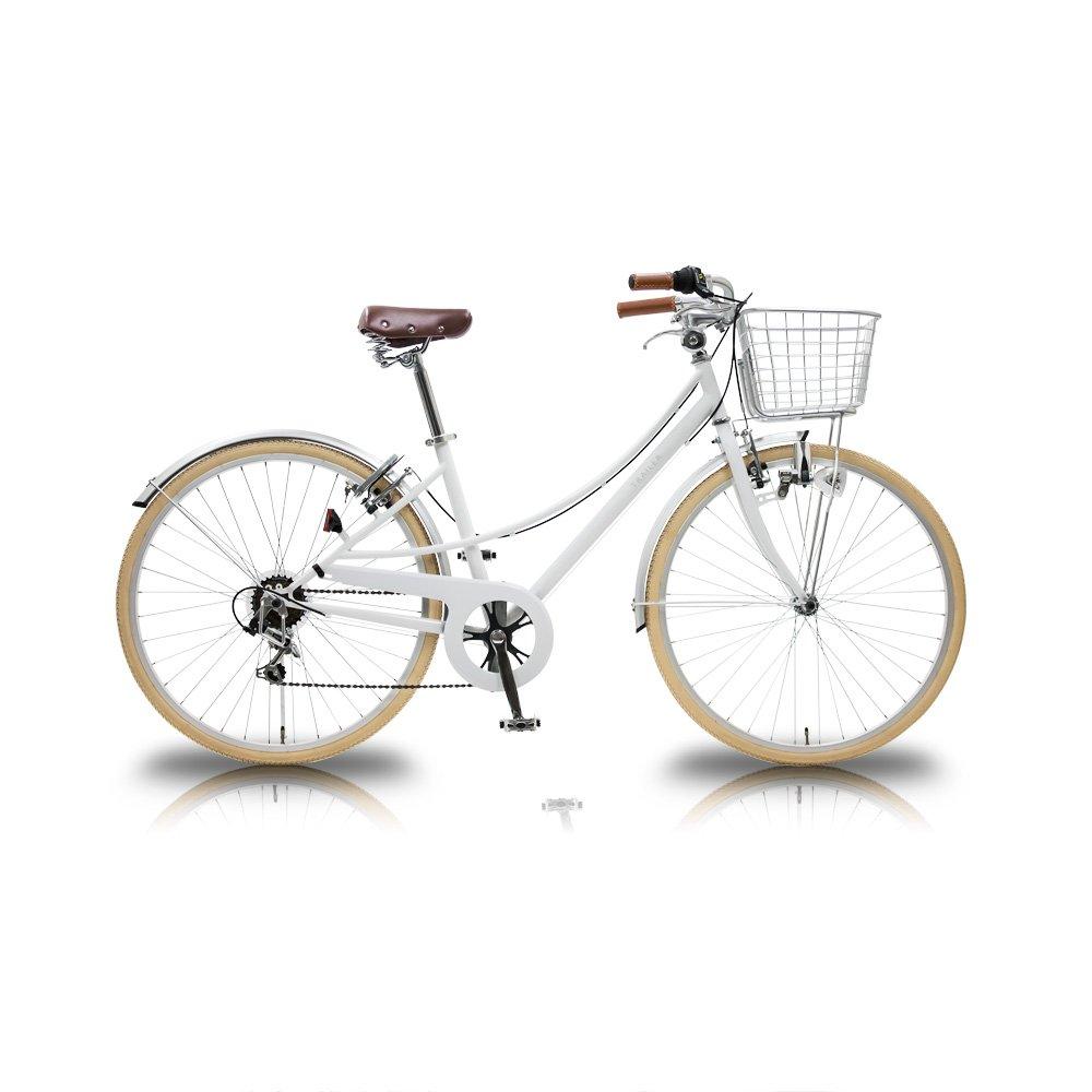 TRAILER(トレイラー) 26インチシティバイク6段変速 Finie(ファイニー) TR-CT2603 B071HL15GJ ホワイト ホワイト