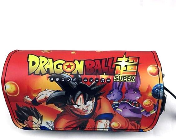 eaodz Estuches Escolar Niñas Caja De Papelería Impresa Dragon Ball Super Estuche De Lápices Bolsa De Lápices De Anime para Cómics Escolares19X7X9Cm, B: Amazon.es: Hogar
