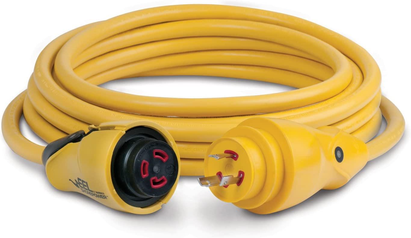 Marinco EEL ShorePower Cordsets : Boating Shore Power Cords : Sports & Outdoors