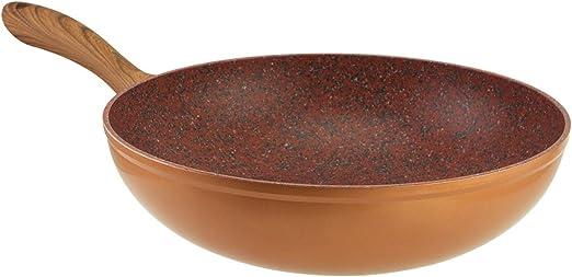28cm Wok Super-Non-Stick for The Ultimate stir-Fry JML Copper Stone Pans