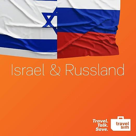 Tarjeta SIM de prepago de telefónica móvil internacional TravelSim World para Israel y Rusia con un volumen de datos de 5 GB (en la red 3/4 G) / para 30 días: Amazon.es: Electrónica