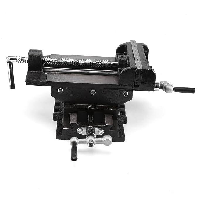 Soporte de metal para tornillo de cruz, 6 pulgadas, soporte de sujeción para banco: Amazon.es: Bricolaje y herramientas