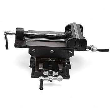 Cocoarm Robuster Parallel Schraubstock Zwei Wege Bewegung 147mm Jaw Opening 150mm Jaw Width Schwarz