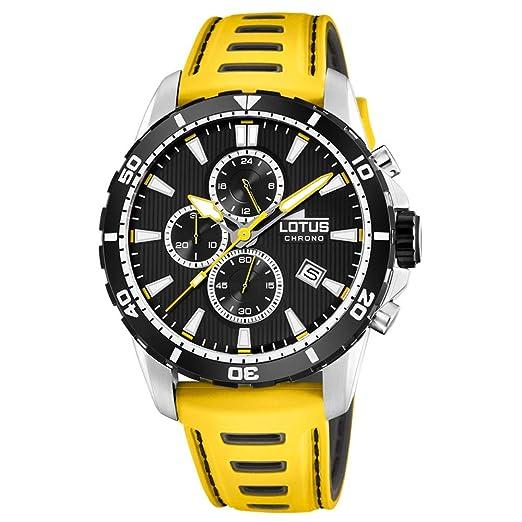 5ff17c916d20 Reloj Lotus Color Caballero cronógrafo 18600 1  Amazon.es  Relojes