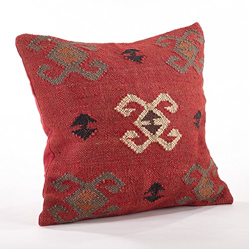 Fennco Styles Home Décor Kilim Collection Down Filled Decorative Throw Pillow - 20