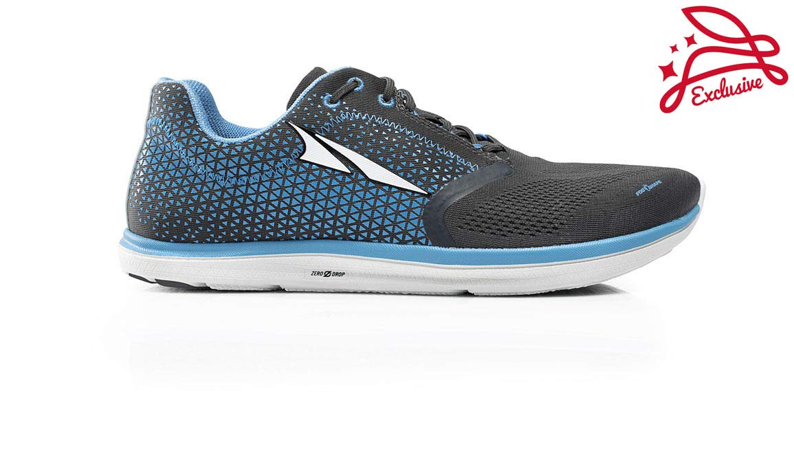 Altra Men's Solstice Running Shoe - Color: Grey/Blue (Regular Width) - Size: 8 by Altra (Image #1)