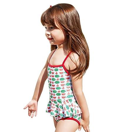 SHRCASE-SWBI Bañador Infantil de una Pieza Niñas Trajes de ...
