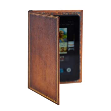 Kindle Fire and 7 Inch Tablet Case with Classic Book Cover (My Book)