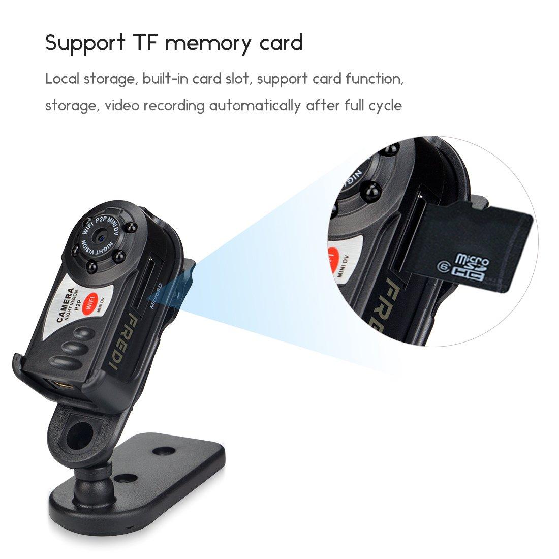 galleon fredi mini portable p2p wifi ip camera indoor outdoor hd dv hidden spy camera video. Black Bedroom Furniture Sets. Home Design Ideas