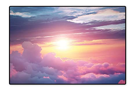 Amazon.com: Alfombra de área personalizada, diseño celestial ...