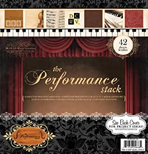 Die Cuts With A View Performance Paper Stack with Foil, 12-inches by 12-inches