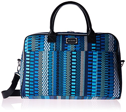 Women's Jet Set Go Weekender, Polyester, Cha-Cha Blue by Vera Bradley