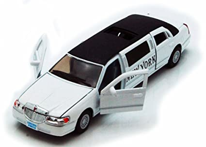 Amazon Com 1999 New York Lincoln Town Car Stretch Limousine White