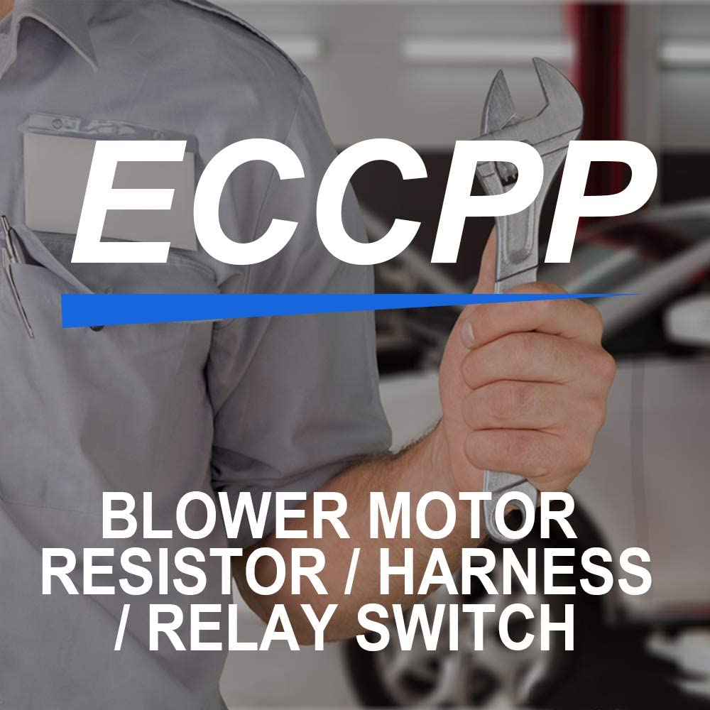 ECCPP OE973-409 A//V Heating and Air Conditioning Blower Motor Resistor Replacement fit for 2003-2006 Chevrolet Avalanche 1500//2003-2006 Chevrolet Avalanche 2500//1999-2007 Chevrolet Silverado 1500