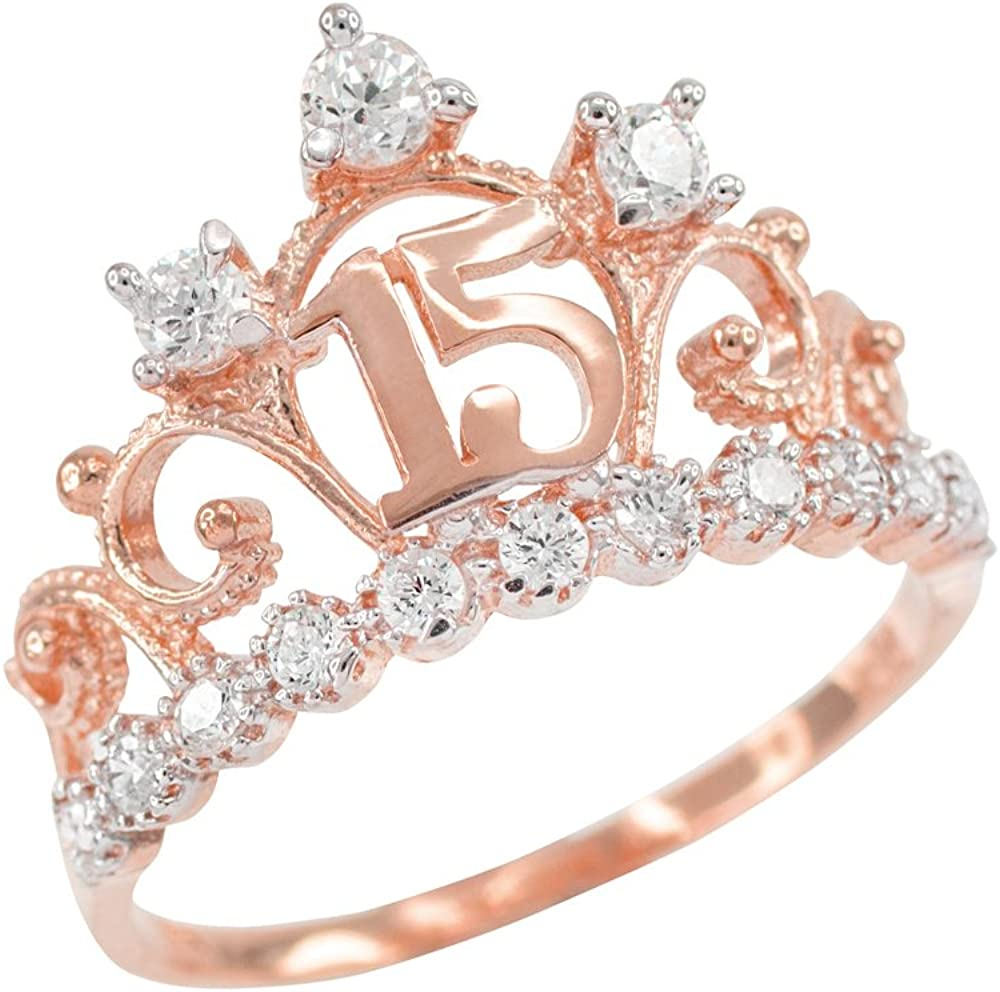 10k Rose Gold CZ-Studded Crown Sweet 15 Anos Quinceanera Ring 61-IdmIE34LUL1000_