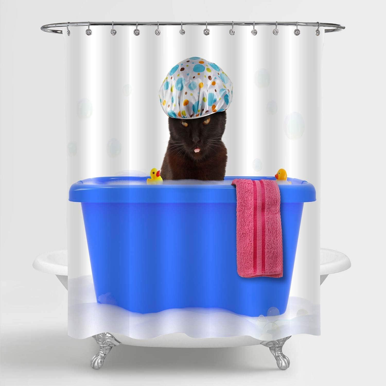 N/ Pirate Waterproof Polyester Bathroom Shower Curtain