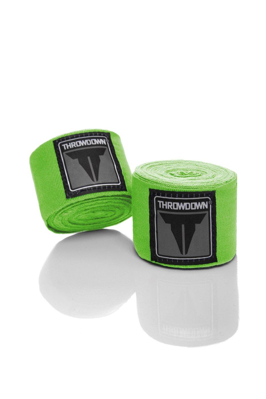Throwdown Tira MMA vendas - verde, tamaño 460 Throw Down TDHW2N-GRN