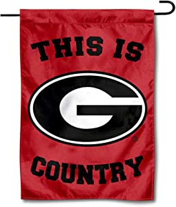 College Flags & Banners Co. Georgia Bulldogs This is Bulldog Country Garden Flag