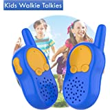 KOMVOX Walkie Talkies for Kids Toddlers Birthday Gifts for 3 4 5 6 Year Old Boys Girls Children, Christmas Stocking Fillers Gifts, Long Range Sets Two Way Radio Boys Toys