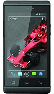 Xolo A500s IPS  Black, 4 GB  available at Amazon for Rs.7299