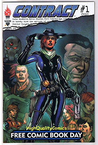 CONTRACT #1, FCBD, Promo, CowGirl, Gunslinger, 2009, NM -