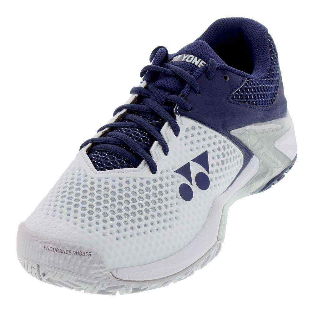 - Yonex Power Cushion Eclipsion 2 White Navy Mens Tennis shoes