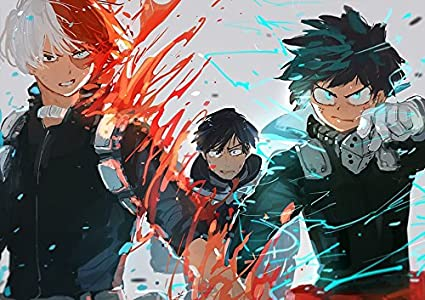 Amazon Com Xxw Artwork My Hero Academia Season 3 Poster Midoriya