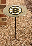 NHL Staked Bird Bath NHL Team: Boston Bruins
