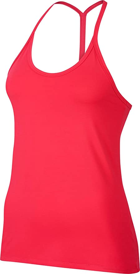 0abd06a8459e0 Amazon.com   Nike Women s Dry Slim Strappy Tank Top (Lt Fusion Red ...