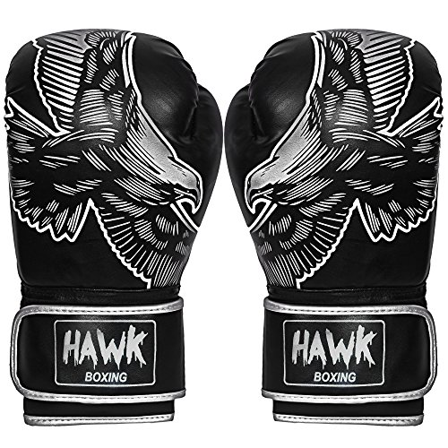 Hawk Boxing Gloves Fight Gloves Sparring Gloves Punching Bag Title Training Gloves Bag Gloves Bag Mitts MMA Muay thai Kick Boxing Gloves TOP QUALITY!!!