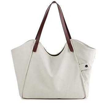 femmes la toile sacs à main haut de la page gérer vagabond sac à l'épaule tote sac décontracté fourre - tout sac de plage du shopping sac Sac à Bandoulière Qbkhl8